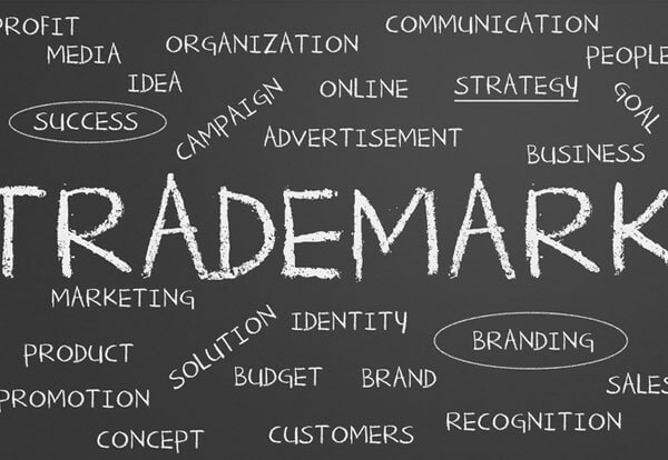 Tag cloud of trade mark services provided by Sandercock & Cowie