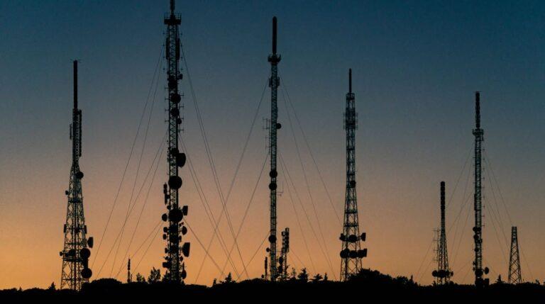 Radio towers provide many ways to make contact